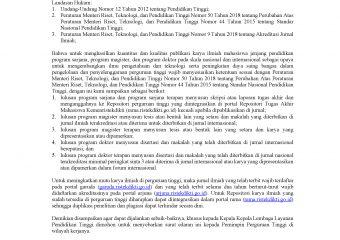 Surat Edaran Publikasi-Karya Ilmiah Program Sarjana